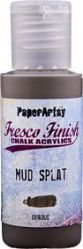 PaperArtsy Fresco Finish Chalk Acrylic Paint 50ml - Mud Splat {was in FFSA2}